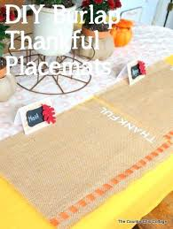 round burlap placemats burlap thankful place mats the perfect to make for your thanksgiving round paper round burlap placemats