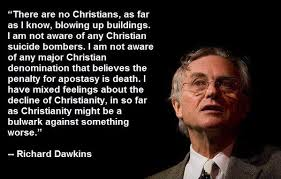 Richard Dawkins Quotes Christianity