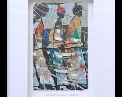 Small Picture Classy Diva Glass Art African American ArtContemporary