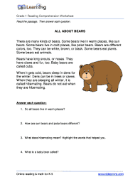 Pupils will read the passage and answer the questions. Reading Comprehension For Grade 1 Pdf Fill Out And Sign Printable Pdf Template Signnow