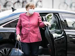 Angela Merkel confirms 'personal visit' to Navalny in hospital after  novichok poisoning