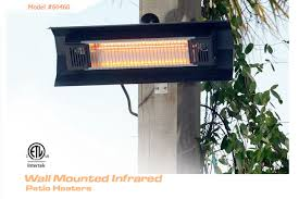 wall mounted infrared firesense patio heater view detailed images 2