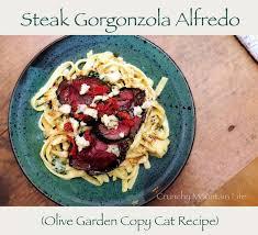 copycat olive garden steak gorgonzola alfredo