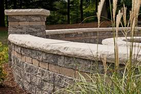 estate wall retaining wall block by unilock at benson stone co in rockford il