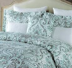 Aqua California King Bedding Aqua Quilt Set King Aqua Bedding King ... & Aqua King Size Duvet Cover Aqua King Quilt Tahari King Duvet Cover Set  Large Floral Paisley Adamdwight.com