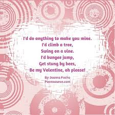 funny valentine poems chuckles and hearts