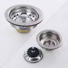 basket strainers for kitchen and bar sinks