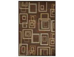 rugs america capri rectangular brandy area rug
