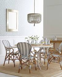 Serena And Lilly Cayman Cork Wallpaper Riviera Armchairs Via Serena Lily