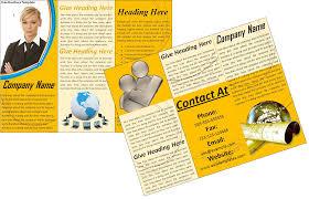 marketing brochure templates set  brochure template