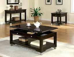 dark lift top coffee table