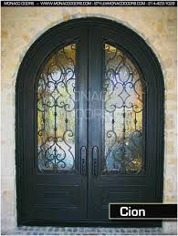 image search results for heavy glass front door black double glass and wrought iron front entry