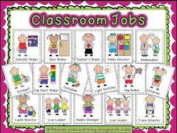 Job Chart Kindergarten Google Search Leader In Me Pinterest