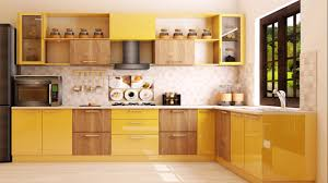 Indian Modular Kitchen Design L Shape India L Shaped Modular Kitchen Designs Ktc 72_16psqf Rapunzel
