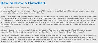 呐喊: How To Sketch A Flow Chart With Ease