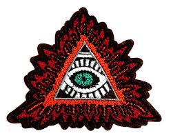 Amazoncom Eye Eyeball Tattoo Cartoon Classic Red Triangle Devils