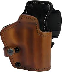 front line frontline 3 layer synthetic leather belt holster sig sauer p228 brown right