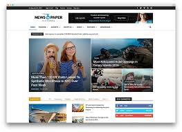 Wordpress Template Newspaper 50 Best Wordpress News Themes October 2019 Updated List