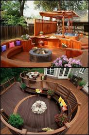 122 Attractive Deck Designs To Improve Your Outdoor Area  http://theownerbuildernetwork.co