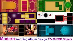 Modern Photo Album Design Modern Wedding Album Design 12x36 Psd Sheets Free Download By Luckystudio4u Com