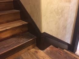 stairwell molding