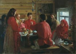an examination of religious ambivalence in the death of ivan in a peasants house by i kulikov