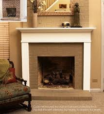 facing and hearth the same width fireplace mantel options