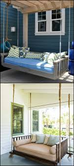hanging daybed swing.  Hanging How To Build A Hanging Daybed Swing   Pinterest Outdoor Areas Daybed  And Swings To Hanging Swing