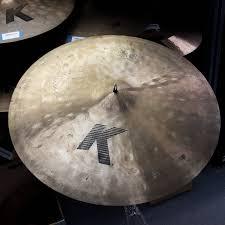 24 K Light Ride Used Zildjian Ronnie Vannucci Autographed 24 K Light Ride Cymbal