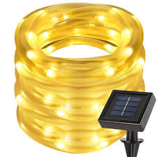 Solar Rope Lights  Lighting EVER Offers You Brilliant Lighting Solar Rope Christmas Lights