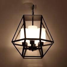 vintage loft wrought iron chandelier for dining room restaurant decoration light fixture luxury large pendant
