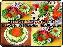 Vegetable Fruit Cutting Carving Garnishes Techniques The Homestead