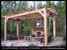 outdoor pergola uae garden wooden shades wooden structures cars parking pergola uae