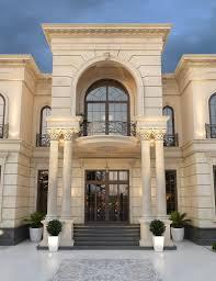 Palace Entrance Design Neoclassical Palace Design Al Doha Qatar Cas
