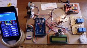 smart home automation security system using arduino pir sensor and with sms alert