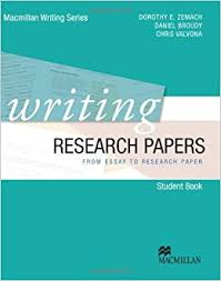 writing research papers from essay to research paper dorothy e  writing research papers from essay to research paper dorothy e zemach daniel broudy chris valvona 9780230421943 com books