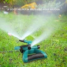 Garden Sprinkler System Design Impressive Lawn Sprinkler Automatic 48 Rotating Adjustable Kids Sprinkler