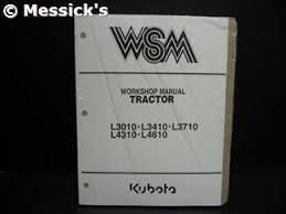 kubota l3010 parts l3010 l3410 l3710 l4310 l4610 shop manual