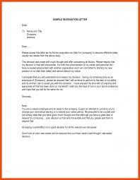 1-2 write a letter of resignation example | formatmemo