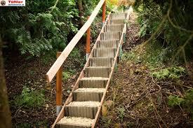 Die richtige höhe für den anfang finden. Aussentreppen Und Gartentreppen Selber Bauen Diytueftler Und Heimwerker De
