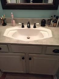 how to paint bathroom countertop bathroom