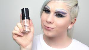 make up forever hd foundation n107 review and pale swatch parison you