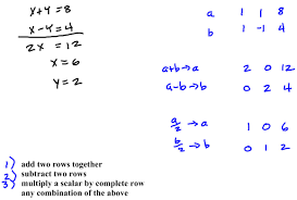 solving systems of linear equations with matrices how to solve simultaneous on ti nspire cx