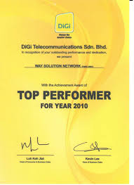Wsn Digi Business Consumer Award Malaysia Top Performer Dealer