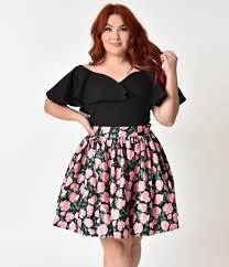 Vintage plus size women's clothing