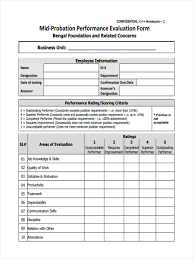 Employee New Hire Forms Free Employee Probation Form Forms Free New Hire Probationary Period