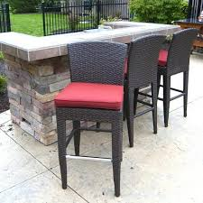 Outdoor Bar Stools And Table Best Outside Set Photos Tables