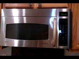 exterior vent over the range microwave. g.e. profile microwave oven short demo of the moving vent exterior over range