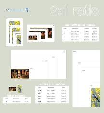 Photograph Sizes Chart Wall Art Size Guide Alarga Co
