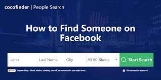 how to find someone on facebook
